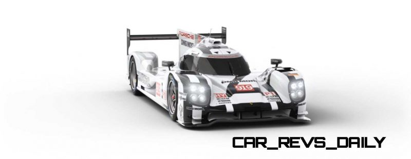 2015 Porsche 919 Hybrid 360-degree Turntable Images 11