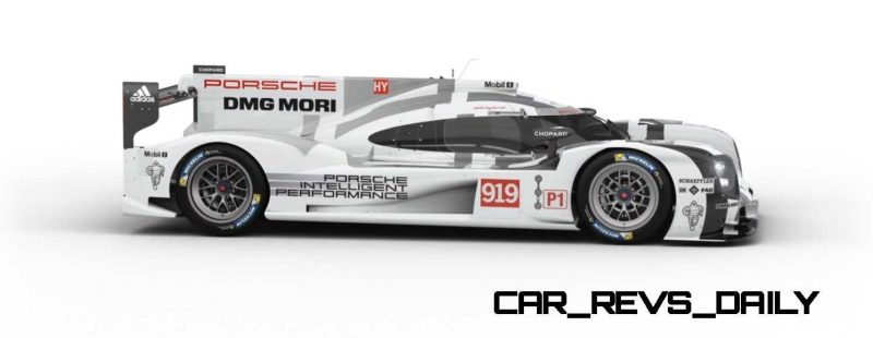 2015 Porsche 919 Hybrid 360-degree Turntable Images 22