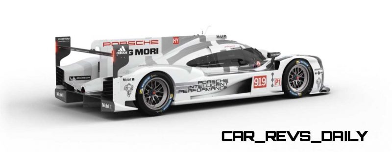 2015 Porsche 919 Hybrid 360-degree Turntable Images 29