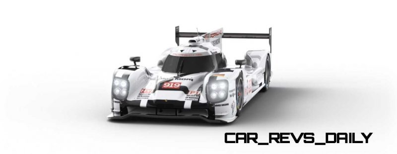 2015 Porsche 919 Hybrid 360-degree Turntable Images 3