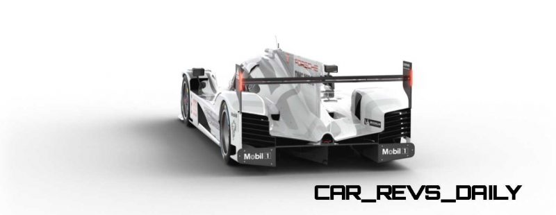 2015 Porsche 919 Hybrid 360-degree Turntable Images 38