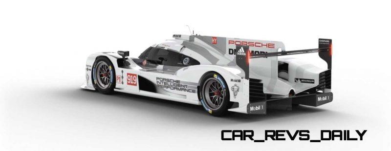 2015 Porsche 919 Hybrid 360-degree Turntable Images 43