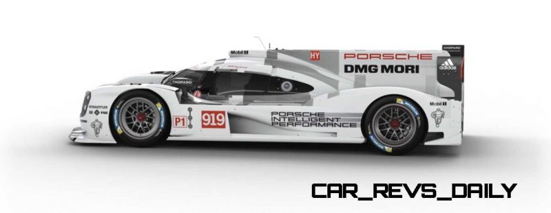 2015 Porsche 919 Hybrid 360-degree Turntable Images 48