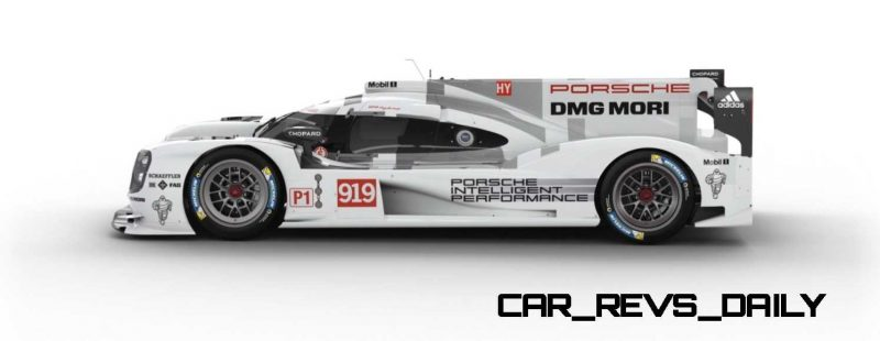 2015 Porsche 919 Hybrid 360-degree Turntable Images 49