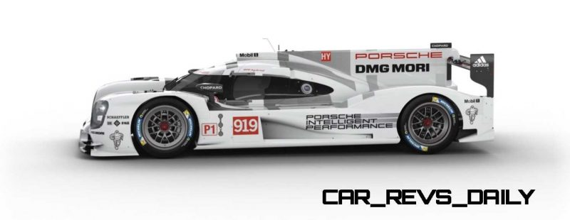 2015 Porsche 919 Hybrid 360-degree Turntable Images 50
