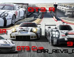 2015 Porsche 911 GT3 R vs. GT3 Cup vs. GT3 RSR – Visual and Specs Comparison