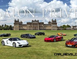 2015 Salon Privé at Blenheim Palace – 125-Photo Preview with LaFerrari, Koenigsegg, P1 and 918 Spyder