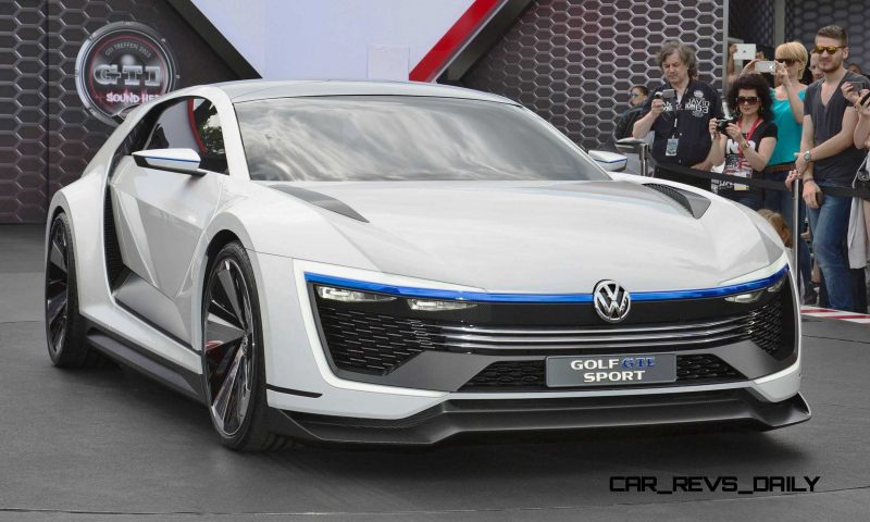 2015 VW Golf GTE Sport Concept 1