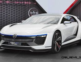 2015 VW Golf GTE Sport Concept + 2016 GTI Clubsport Production Reveal at Worthersee