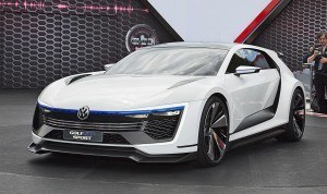 2015 VW Golf GTE Sport Concept 2