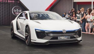 2015 VW Golf GTE Sport Concept 3