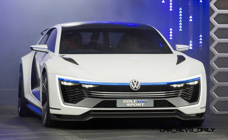 2015 VW Golf GTE Sport Concept 5