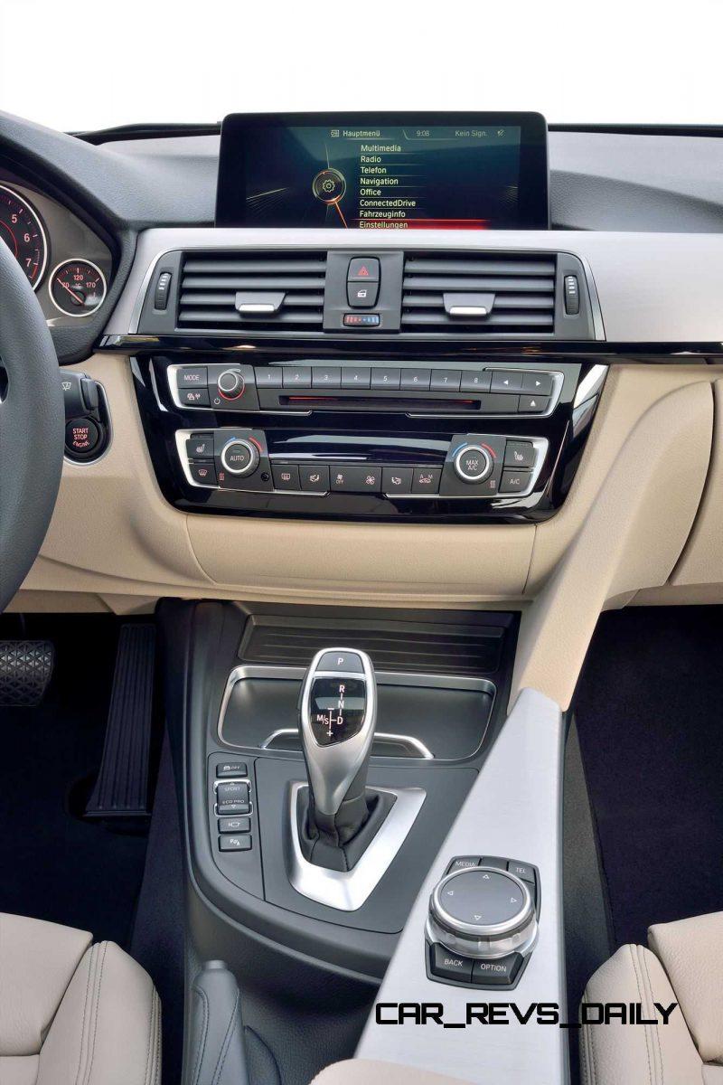 2016 BMW 3 Series Interiors 27
