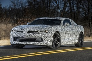 2016 Chevrolet Camaro engineering prototype