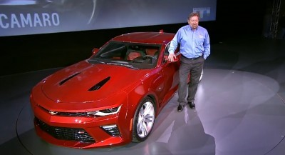 2016 Chevrolet Camaro Live Reveal 38