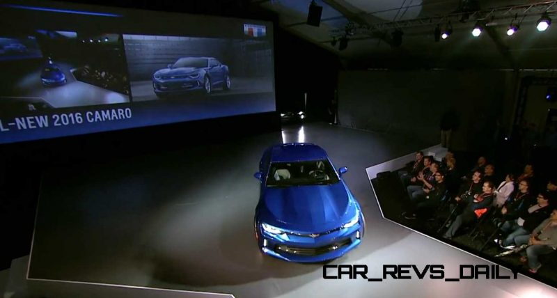 2016 Chevrolet Camaro Live Reveal 8