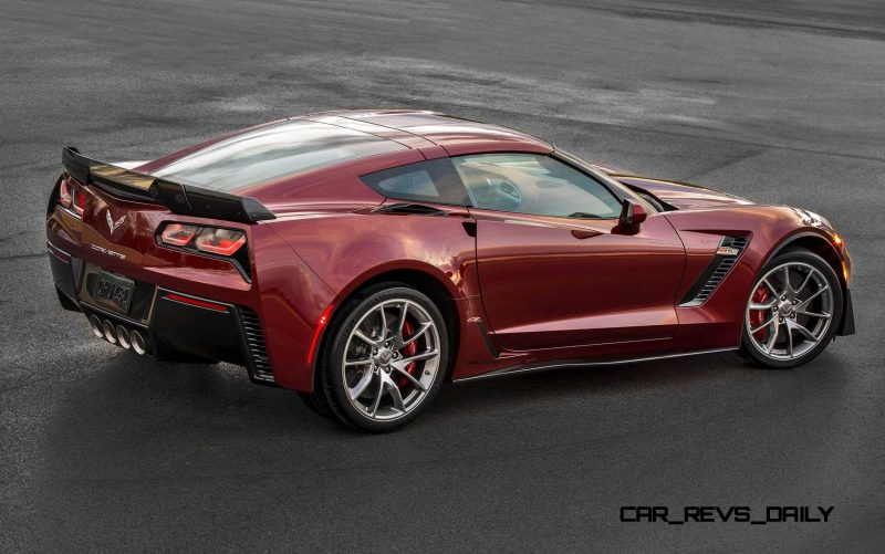 2016 Corvette Stingray and Z06 Spice Red Design Package