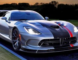 2016 Dodge Viper ACR Brings Extreme Aero, 3-inch Ride Height Adjustment + New Carbon Brakes