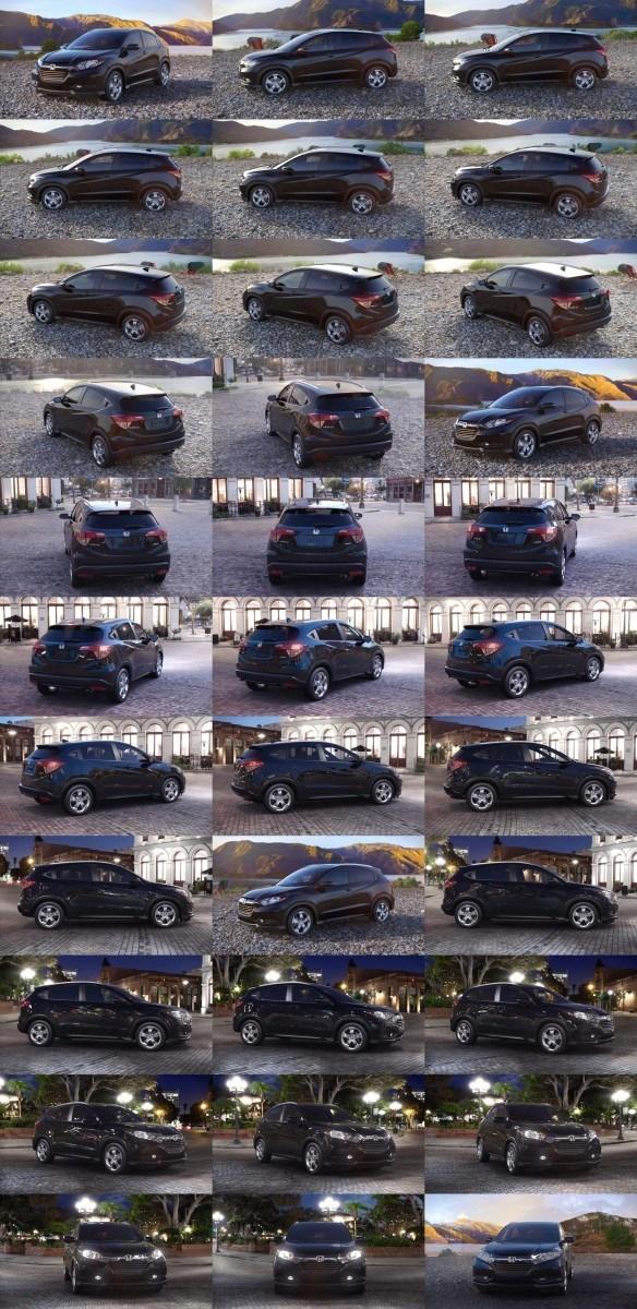 2016 Honda HR-V - Crystal Black Pearl 1-tile
