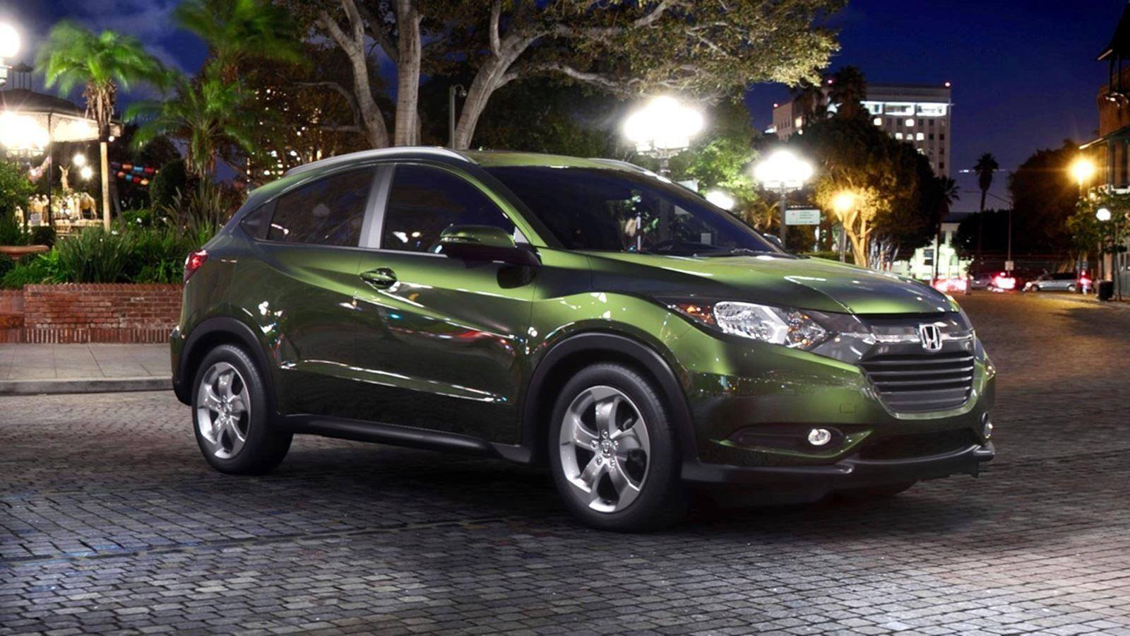 2016 Honda HR-V - Misty Green Pearl 28