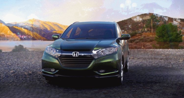 2016 Honda HR-V - Misty Green Pearl