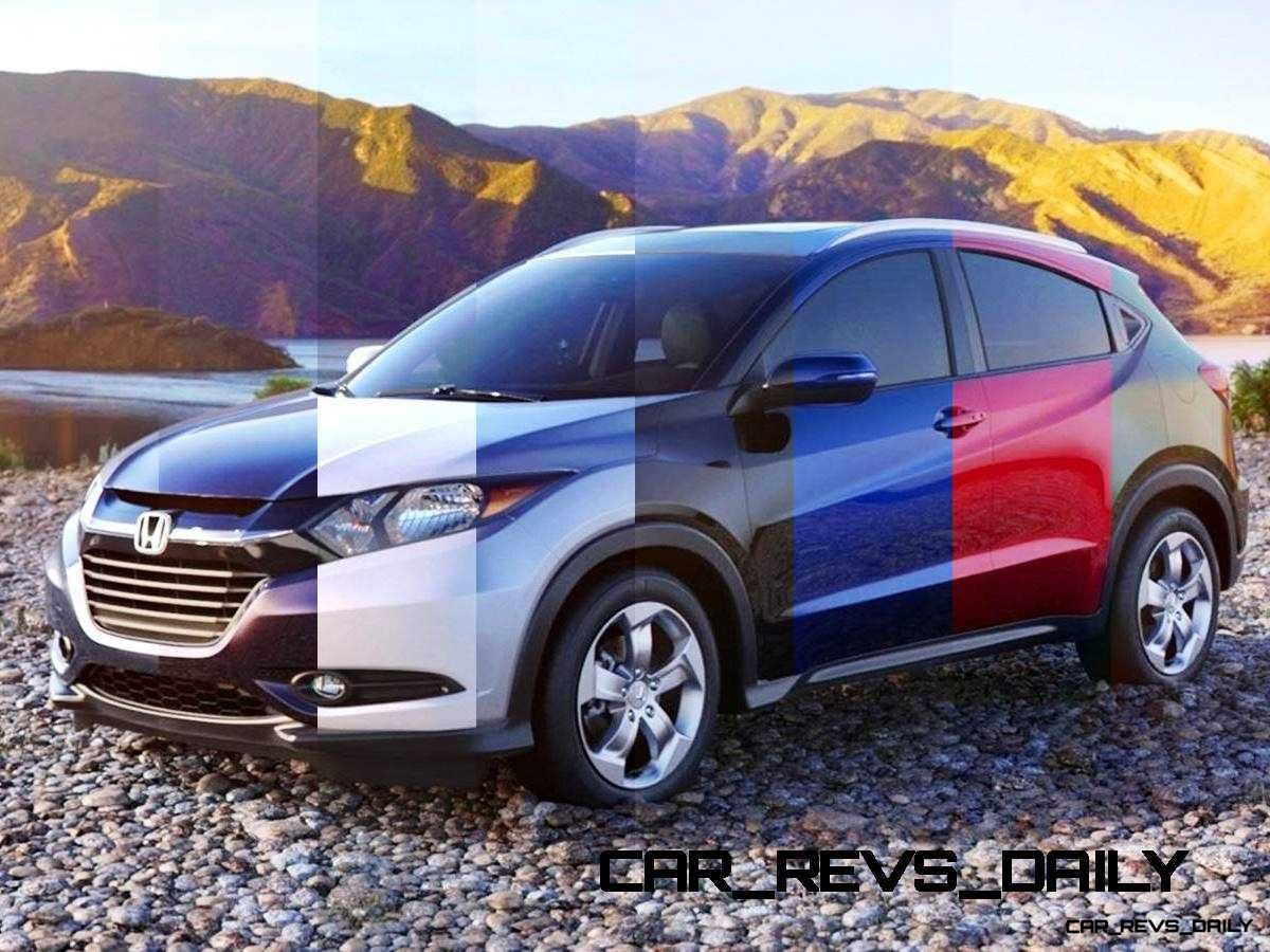 2016 Honda HR-V - Mulberry Metallic (CVT only) 12