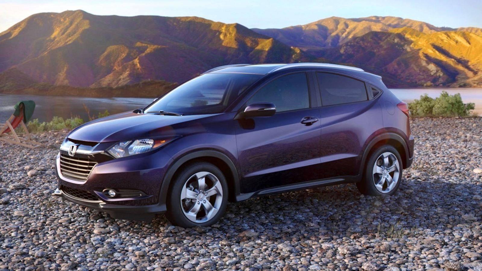 2016 Honda HR-V - Mulberry Metallic (CVT only) 23