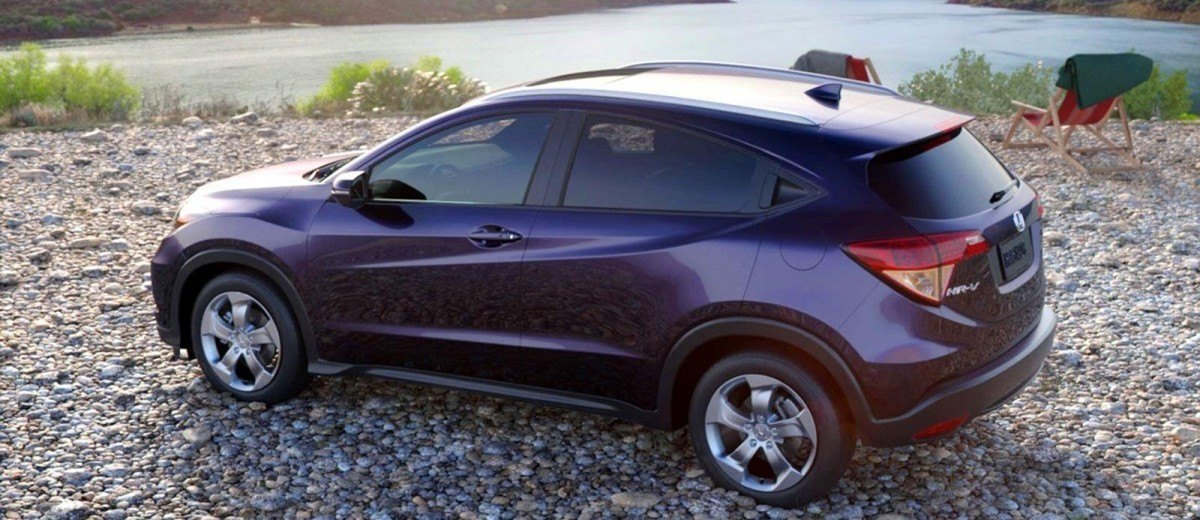 2016 honda hr v mulberry metallic cvt only 7
