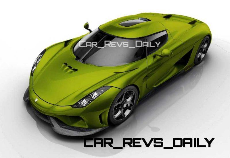 2016 Koenigsegg Colorizer Renderings 1