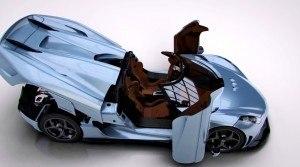 2016 Koenigsegg REGERA - Animated Flyaround 113