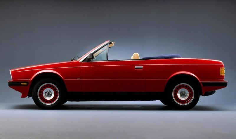 La vettura venne presentata al Salone di Torino del 1984.