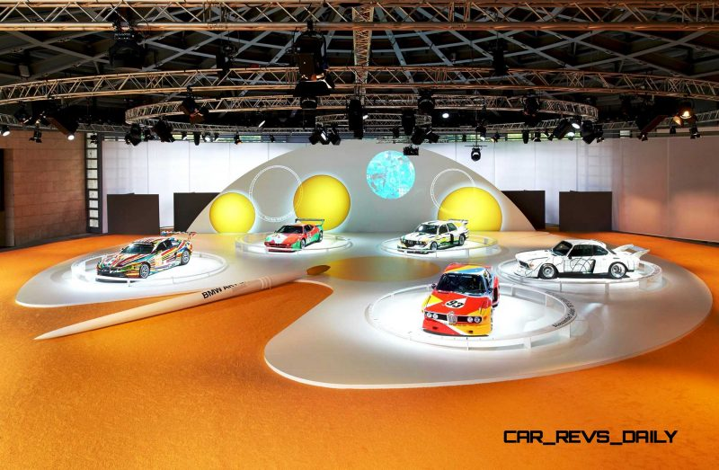BMW Art Car Collection Celebrates 40th Anniversary With Fresh Museum Display + World Tour (125 Photos) 116
