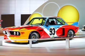 BMW Art Car Collection Celebrates 40th Anniversary With Fresh Museum Display + World Tour (125 Photos)