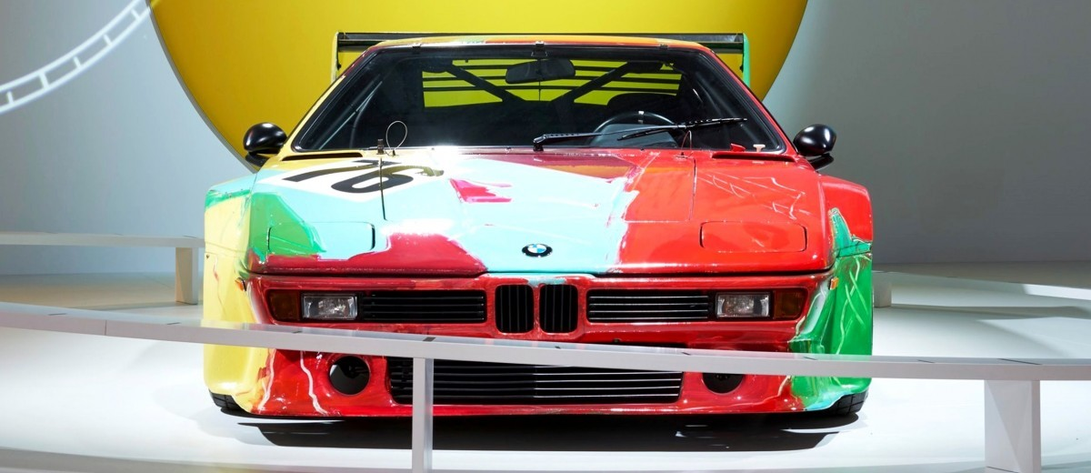 BMW Art Car Collection Celebrates 40th Anniversary With Fresh Museum Display + World Tour (125 Photos) 122