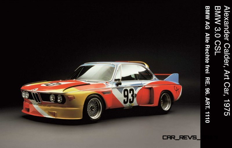 BMW Art Car Collection Celebrates 40th Anniversary With Fresh Museum Display + World Tour (125 Photos) 17