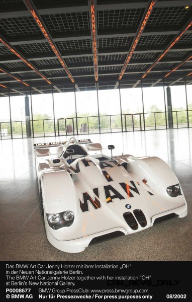 BMW Art Car Collection Celebrates 40th Anniversary With Fresh Museum Display + World Tour (125 Photos) 46