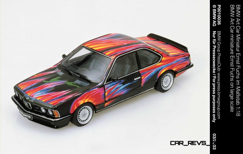 BMW Art Car Collection Celebrates 40th Anniversary With Fresh Museum Display + World Tour (125 Photos) 49