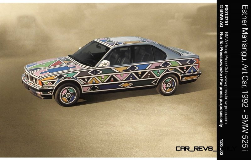 BMW Art Car Collection Celebrates 40th Anniversary With Fresh Museum Display + World Tour (125 Photos) 60