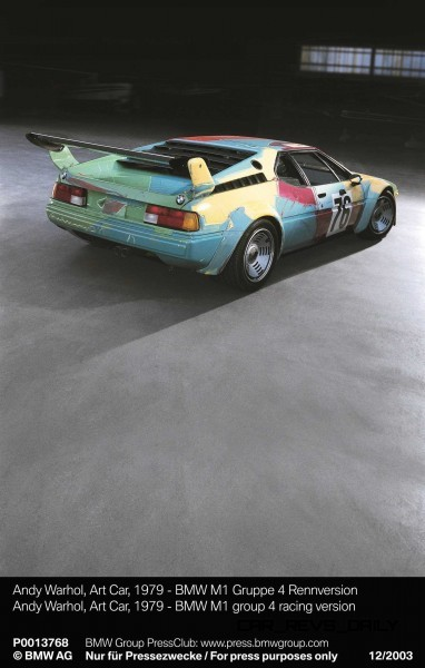 BMW Art Car Collection Celebrates 40th Anniversary With Fresh Museum Display + World Tour (125 Photos) 70