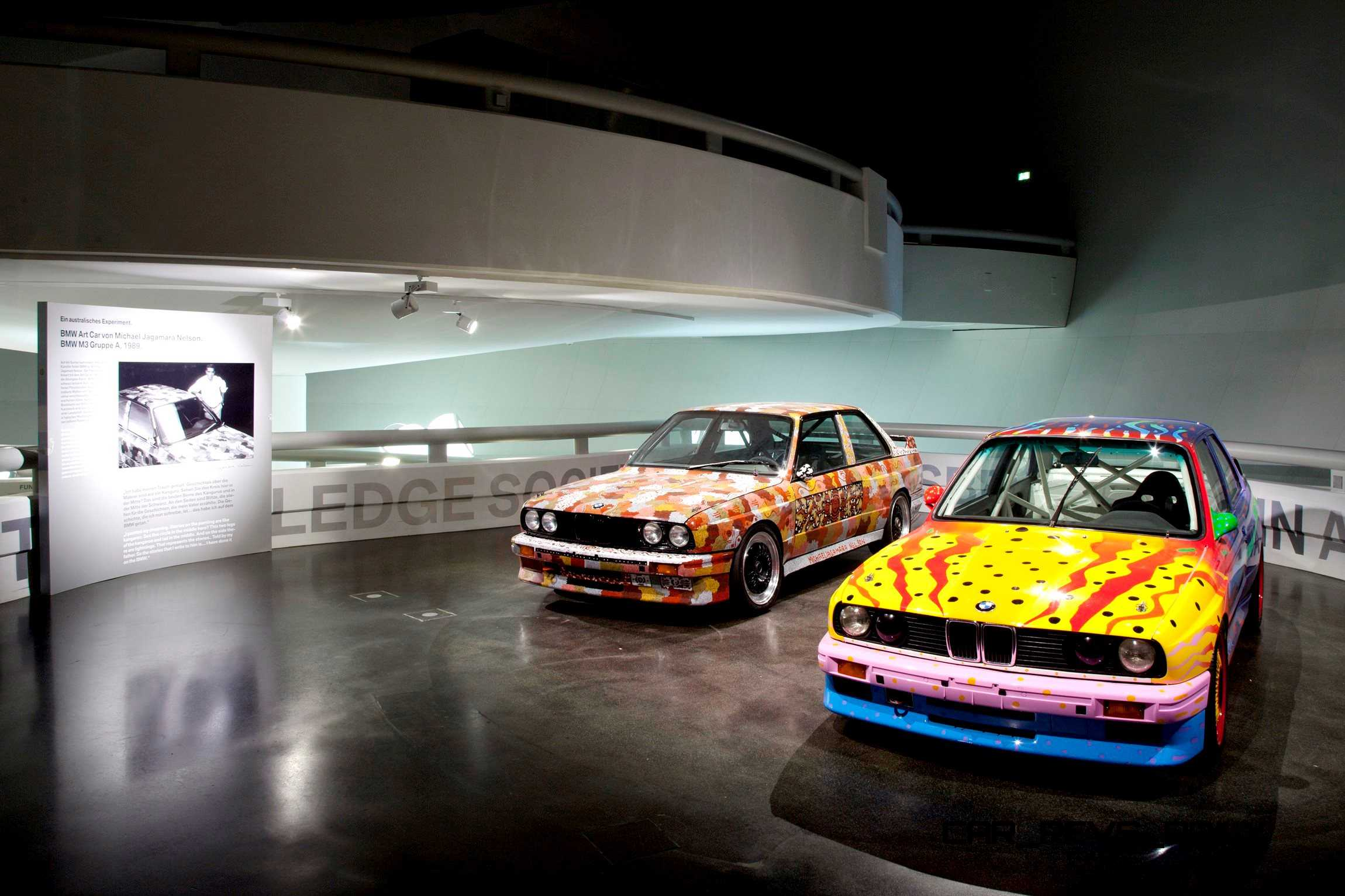 bmw art car collection celebrates 40th anniversary with. Black Bedroom Furniture Sets. Home Design Ideas