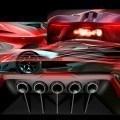 2015 SRT Tomahawk Vision Gran Turismo Teases Extreme Mid-Engine Hypercar