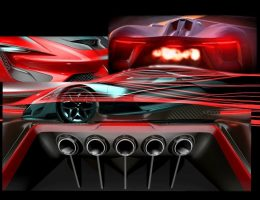 2015 SRT Tomahawk Vision Gran Turismo Teases Extreme Mid-Engine Hypercar