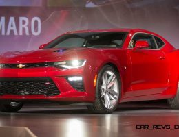 455HP, 4.2s 2016 Chevrolet CAMARO – Official Debut in 150 Images + Tech Specs