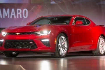 2016 Chevy Camaro Unveiled At Employee Event