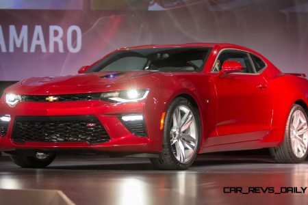 3e30f79e 455HP, 4.2s 2016 Chevrolet CAMARO – Official Debut in 150 Images + Tech  Specs