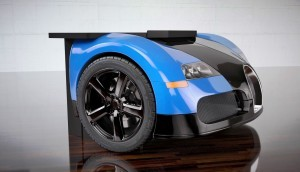 Design Epicentrum Supercar Office Desks - Bugatti Veyron 2