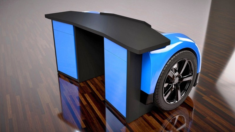 Design Epicentrum Supercar Office Desks - Bugatti Veyron 4