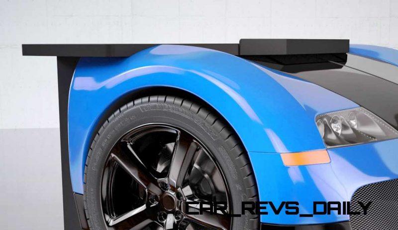 Design Epicentrum Supercar Office Desks - Bugatti Veyron 6