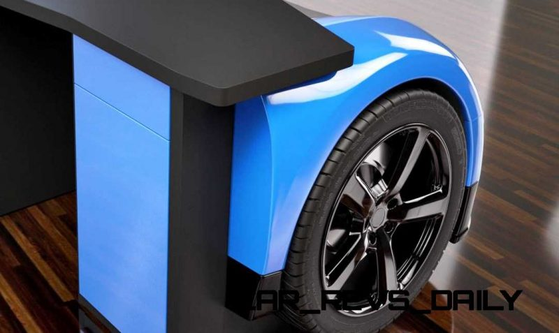 Design Epicentrum Supercar Office Desks - Bugatti Veyron 8