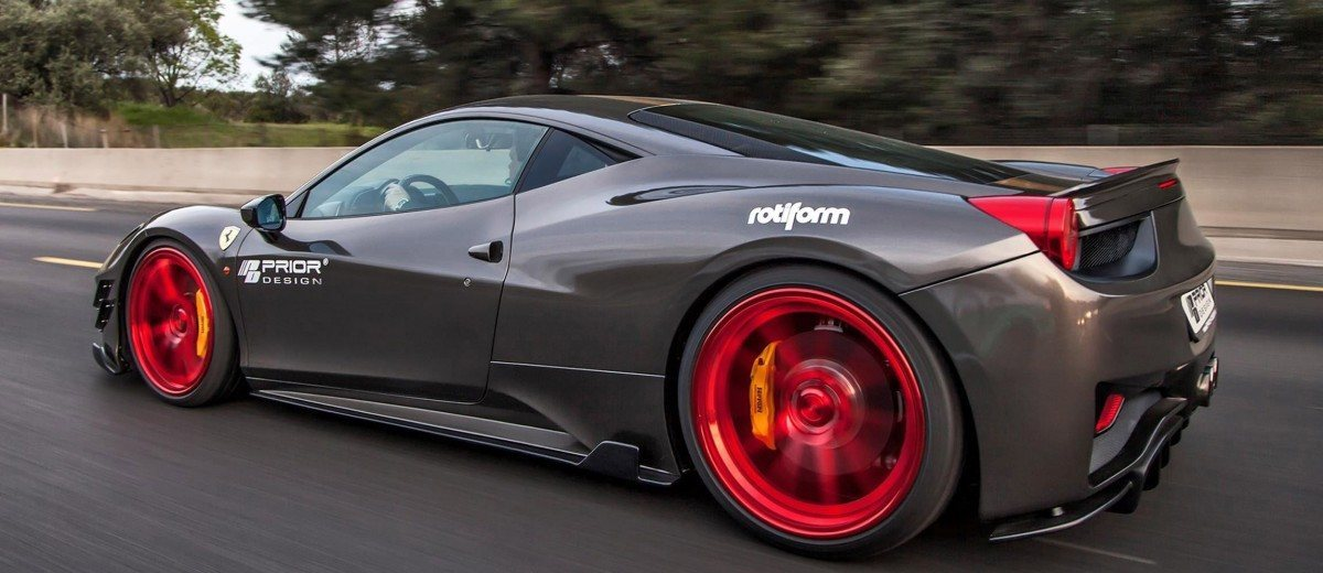 Ferrari 458 Widebody By Prior Design 4